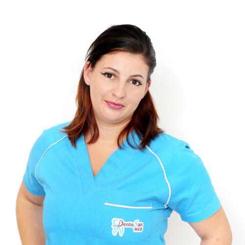 Maria Serghiac @ clinica stomatologica Dentosan Med Cluj